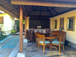 four seasons jimbaran villa outdoor living area