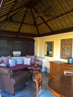 Four Seasons Jimbaran villa living area