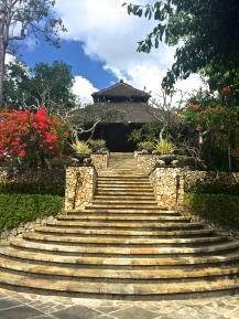 Four Seasons Jimbaran Stairs to main lobby