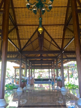 Four Seasons Jimbaran Main Entrance