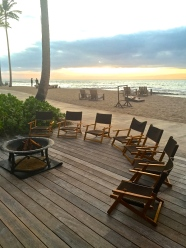 Four Seasons Hualalai Smores at Sunset