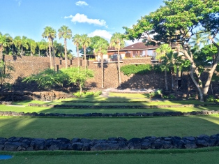 Four Seasons Hualalai Luau Grounds