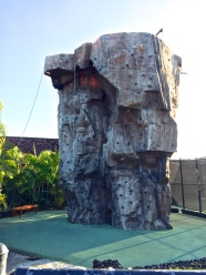 Four Seasons Hualalai Fitness Center Rock Wall