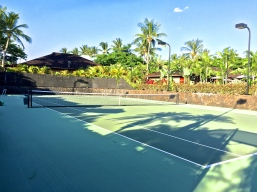 Four Seasons Hualalai Fitness Center Tennis Courts
