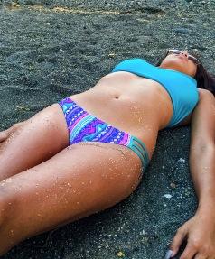khylasophy KALOKINI swimwear Hawaii bikini